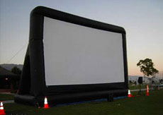 Outdoor drive in Halloween Movies